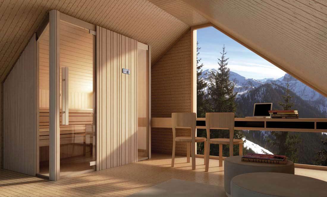 sauna auki. Black Bedroom Furniture Sets. Home Design Ideas