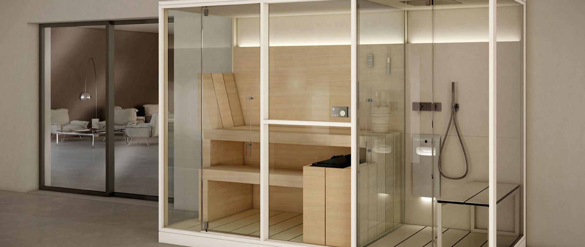 Hammam douche sur mesure annecy atelier nordic - Combine sauna hammam ...
