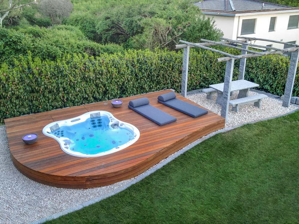 spa dimension one jacuzzi en rh ne alpes et suisse les bienfaits. Black Bedroom Furniture Sets. Home Design Ideas
