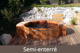 spa jacuzzi en bois fabrication et vente spas bois. Black Bedroom Furniture Sets. Home Design Ideas