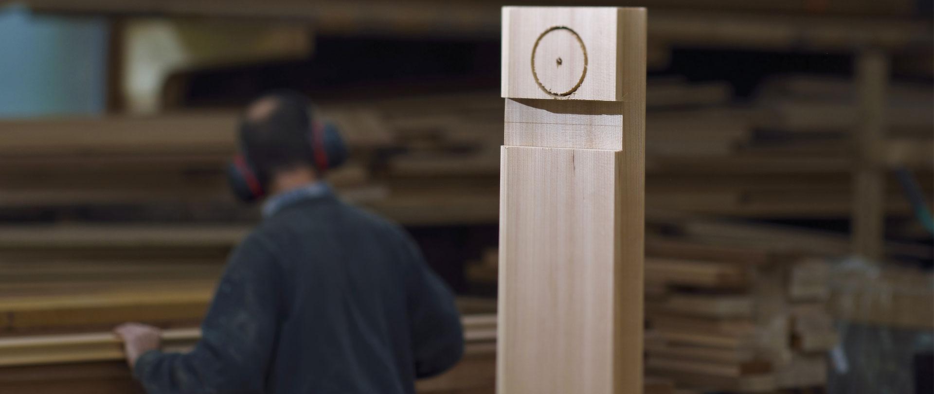 Atelier fabrication spa sauna bois Annecy