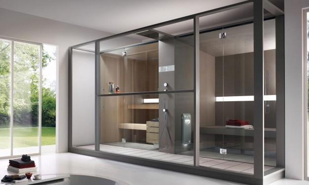 Combiné sauna-Hammam-Douche Annecy -Atelier Nordic