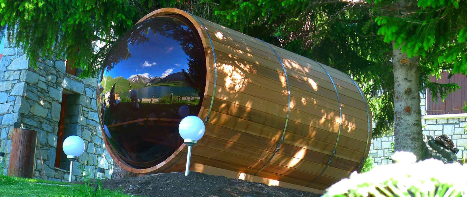 Sauna bulle Tignes Cosmic