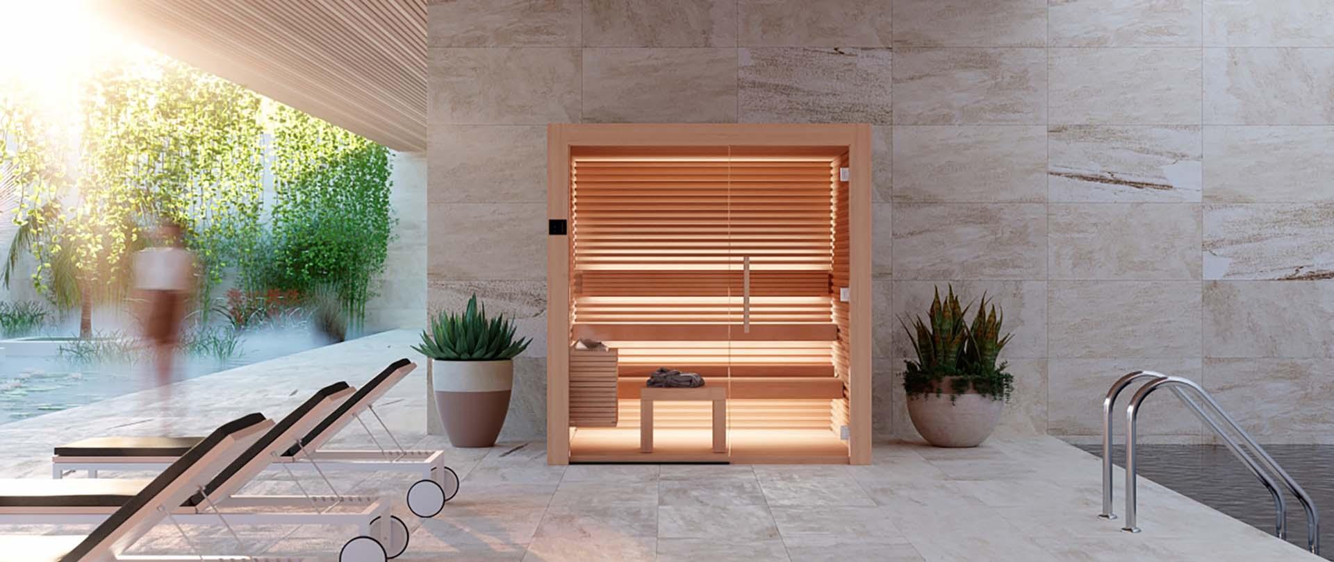 Sauna Interieur Bois Design Nativa Auroom Annecy