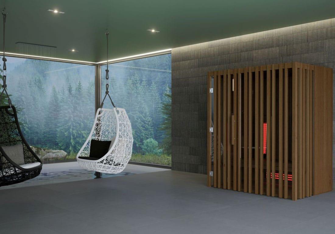 Achat Installation Sauna Infrarouge Bois Annecy