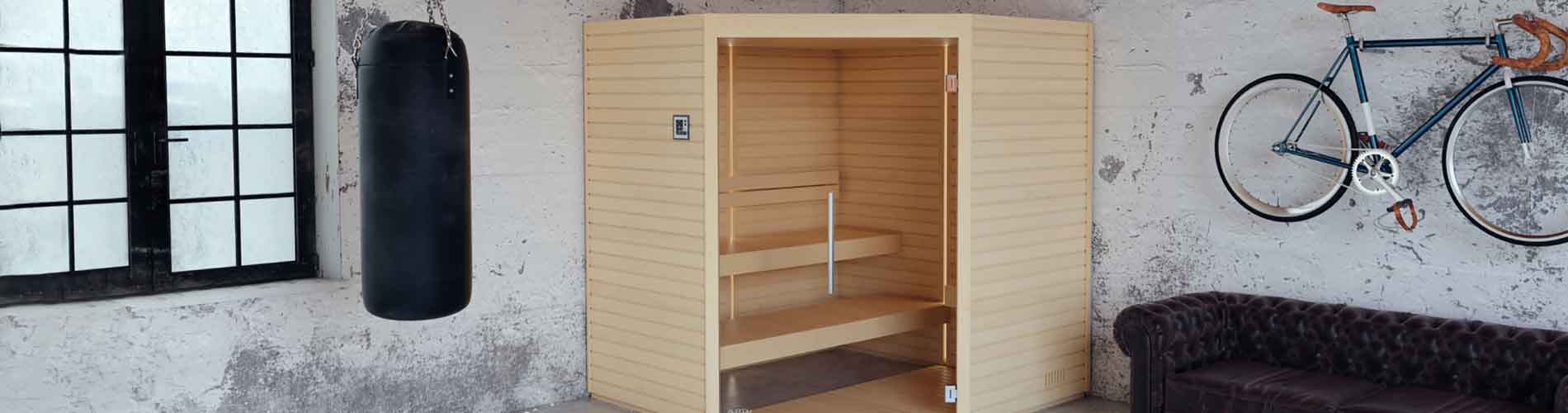 Sauna Interieur Bois Traditionnel Varia Auroom Annecy