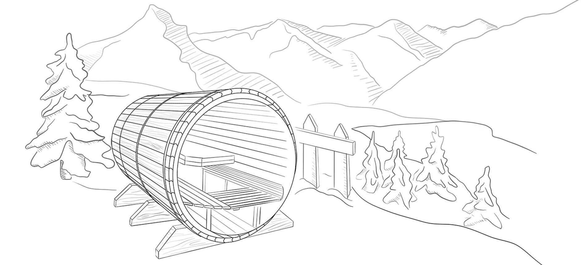 Sauna Bulle Conception Achat Alpes