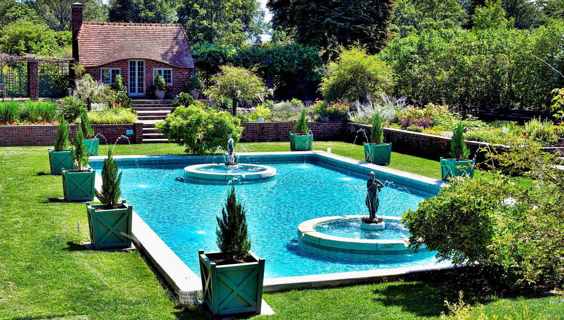 Piscine Jardin Maison Spa Jacuzzi